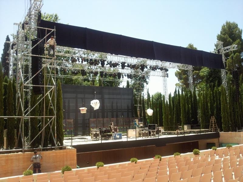 Escenario Auditorio Generalife