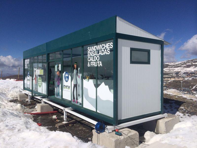 Caseta Estación de Esquí Sierra Nevada