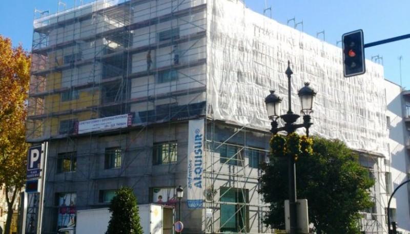 Andamio Edificio Zaida